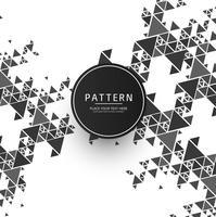 Modernt mönster bakgrund