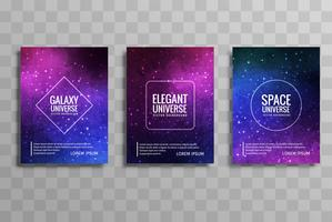 Modern Galaxy Stylie Business Broschyr Set