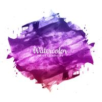 Abstract brush stroke for design and colorful watercolor backgro