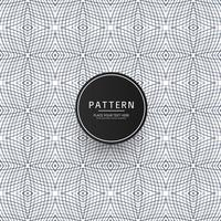 Abstract geometric seamless pattern with crossing thin lines vector