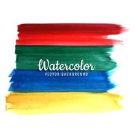 modern colorful watercolor strokes background