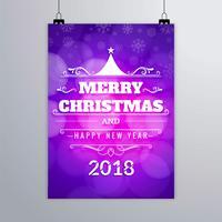 Moderne kerstbrochure