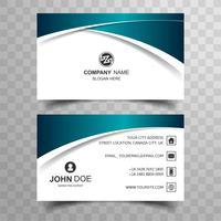 Moderna carta commerciale con onda creativa