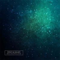 Estrellas de un planeta y galaxia en un fondo de espacio libre