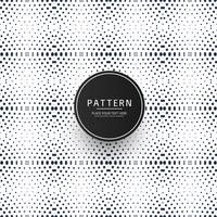 Seamless dotted geometric pattern design vector