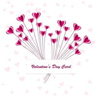 Happy Valentine's day creative card design
