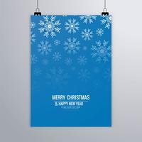 Moderne Weihnachtsbroschüre
