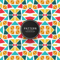 Modern geometric colorful pattern design