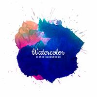 Beautiful brush stroke for design and colorful watercolor brushe