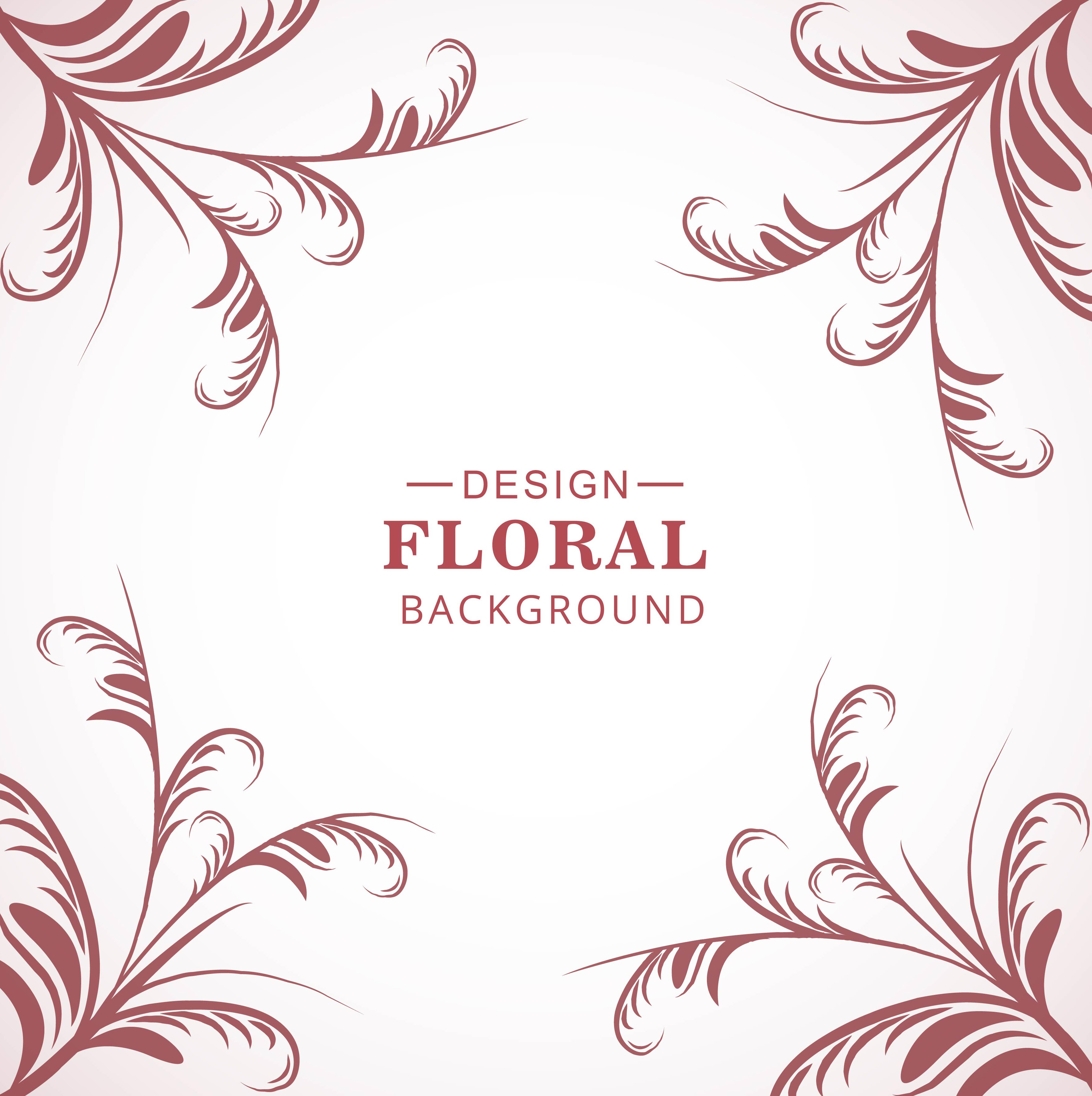 Modern Floral Pattern Background Download Free Vectors Clipart