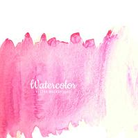 Dessin aquarelle abstrait trait rose
