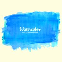 Blue watercolor splash background