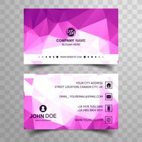Modern business card background
