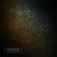 Colorful space with light shining stars dark galaxy background