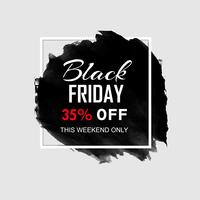 modern black friday sale stylish background