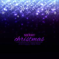 Elegant christmas colorful background with snowflakes design