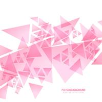 Modern pink polygonal background