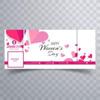 Women's day facebook banner design