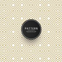 Modern geometric creative pattern vector
