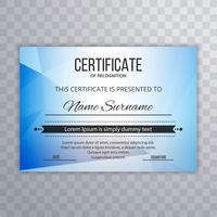 Certificate Premium template awards diploma polygon background