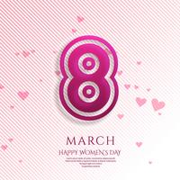 Happy Women's Day celebration background illustration
