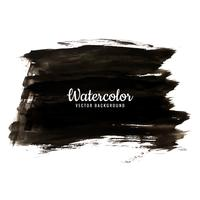 modern black watercolor background vector