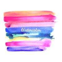 Abstrakter bunter Aquarellanschlaghintergrund