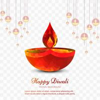 Modern colorful diwali bright background