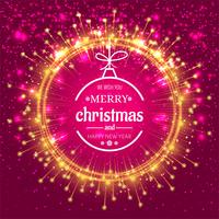 Elegant christmas colorful background