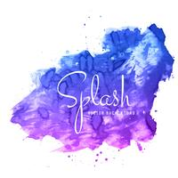 fond coloré abstrait splash aquarelle