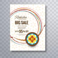 Rakhi Sale Poster Template Background For Festival Of Raksha Ban