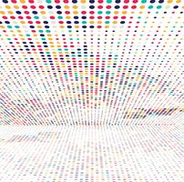Elegant colorful halftone background