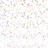 Abstract colorful confetti background. Isolated on the white