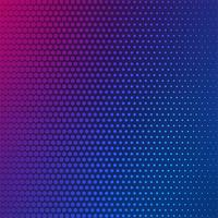 Abstract colorful halftone background