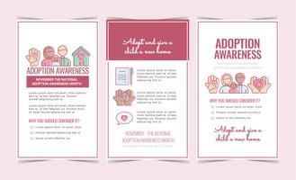 Adoption Awareness Flyers