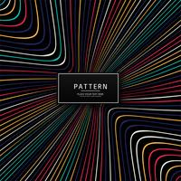 Modern colorful creative lines pattern design