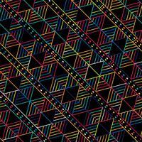 Moderne kleurrijke geometrische patroonachtergrond