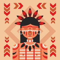 Vector de pueblos indigenas