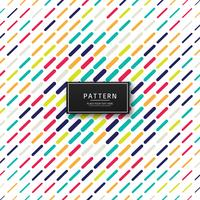 Modern colorful pattern background illustration vector