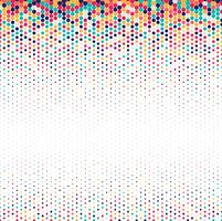 Background of spots colorful halftone design vector