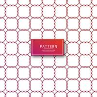 Abstract geometric pattern red background