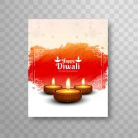 Modern beautiful diwali modern brochure design