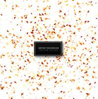Beautiful confetti celebration background