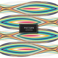Modern colorful lines pattern background illustration vector