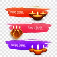 Moderne Happy Diwali Designs