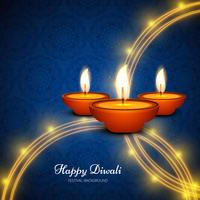 Modern happy diwali background