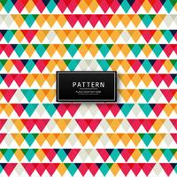 Geometric colorful pattern background illustration