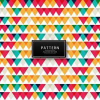 Ilustração de fundo padrão colorido geométrico