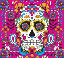 Day Of The Dead Vol 2 Vector