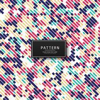 Abstracte kleurrijke lijnen patroon achtergrond